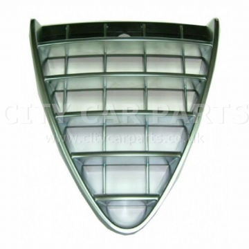 Alfa Romeo 147 2007-2010 Front Main Grille Black Silver Satin Primed UK Seller